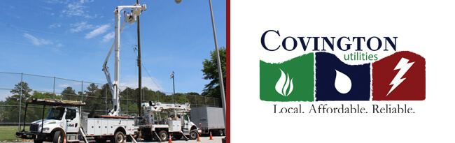 Bucket trucks and Utilities logo