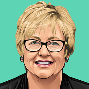 Portrait of Covington City Council Member Susie Keck
